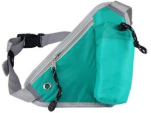 14dd1692cdcb Running Belt Hydration Waist Pack with Water Bottle Holder for Men Women  Waist Pouch Fanny Bag Reflective Fits iPhone 6 7 Plus Green