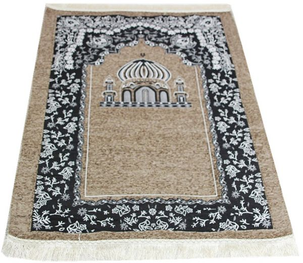 Temple Design Turkish Prayer Rug
