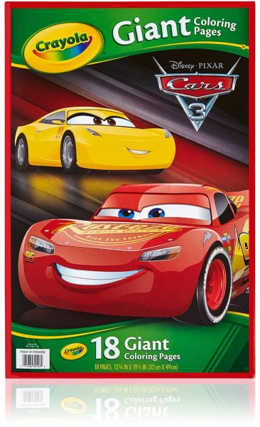 Crayola Giant Coloring Pages Cars For Kids Souq Uae