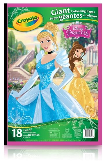 Crayola Giant Coloring Pages Disney Princess For Kids Souq Uae
