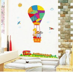 Sale On Trendy Peas Hot Air Balloon Wall Art Uae Souqcom