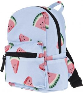 3D Watermelon Fruit Floral Printed Shoulder Waterproof Women Mini Backpacks  Kids Girls Casual School Backpacks Outdoor and Indoor Travel Sport School  Bag 8971f8636544c