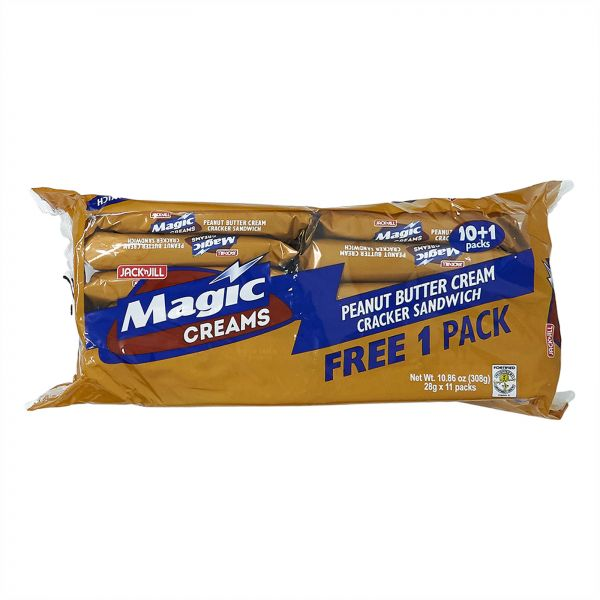 Jack N Jill Magic Crackers Peanut Butter Pack of 11 - 28 gm