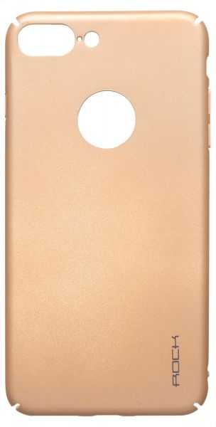 Rock Back Cover for Apple iPhone 7 Plus, Gold | Souq - UAE