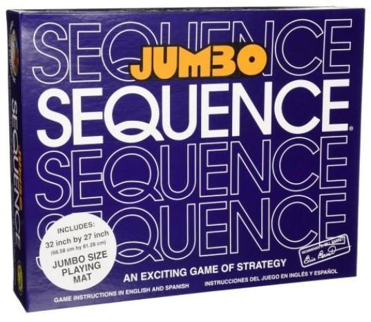 Souq Jumbo Sequence Box Edition Board Card Games Intellect Toys