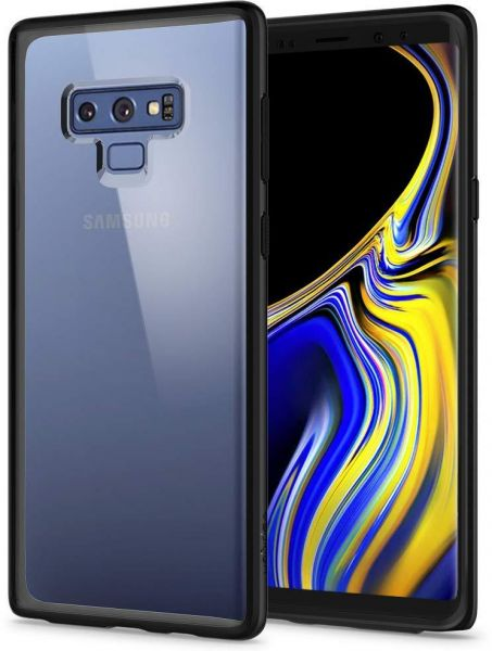 huge discount 52225 28bb1 Spigen Ultra Hybrid Galaxy Note 9 Case with Air Cushion Technology and  Hybrid Drop Protection for Samsung Galaxy Note 9 - Matte Black