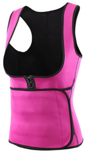 09a83751cf ... Sauna Sweat Vest Waist Trainer Cincher Workout Thermo Push Up Trainer