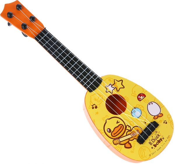 17 Inches Ukulele Guitar Toy With Pick For Kids Musical Instrument