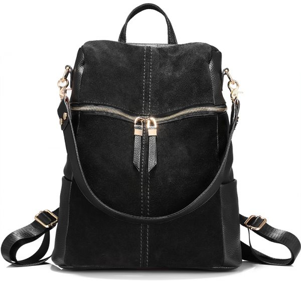 5fc6a0499a4 LOVEVOOK Fashion Trend Women Soft PU Shoulder Bag College Wind Leisure  Travel Backpack