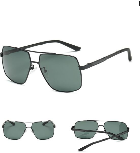 Men S Full Rim Aviator Style Polarized Sunglasses Casual Block Uv