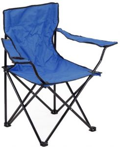 Foldable Beach Garden Chair, Adjustable Folding Moon Saucer Camp Chair for Outdoor Picnic Camping, Lumbar Back Support Chair with Cup Holder, Armrest, ...