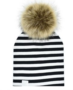 16a6e42b6b1 Children Hat Toddler Kids Baby Warm Winter Wool Hat Knit Beanie Fur Pom Pom  Hat Baby Boys Girls Cap mm
