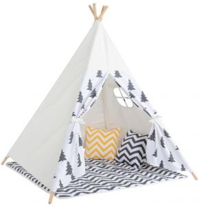 Four Poles Indian Play Tent cartoon Tree Printed Children Teepees Kids Tipi Tent Cotton Canvas Teepee Play House for Baby Room- white  sc 1 st  Souq.com & Buy ozark childrens teepee play tent | IntexAc.y.cIkea - UAE ...