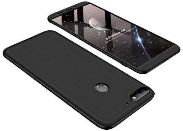 finest selection 6fd1c 0e1ea Infinix Note 5 - X604 case 360 Degree 2 pieces Silicon products front And  back With Out Screen - Black