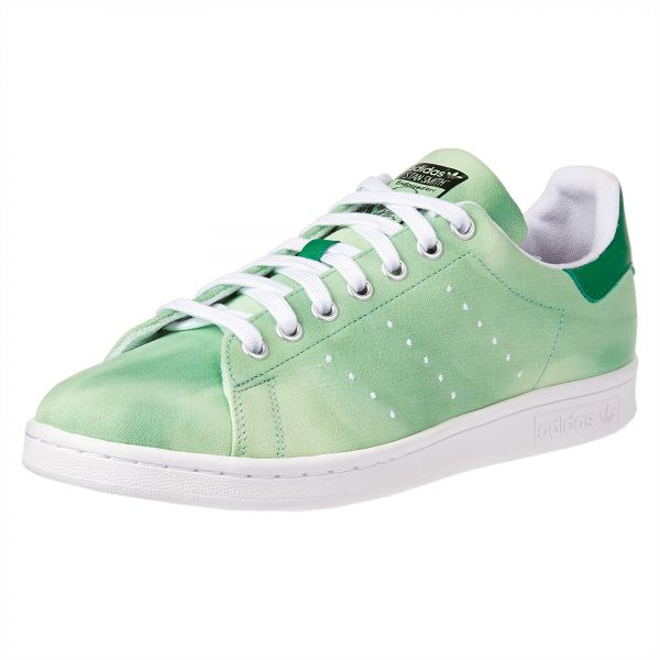 cb058d3d1 adidas Originals Pharell Williams PW HU Holi 1 Sneaker for Men - White    Green. by adidas