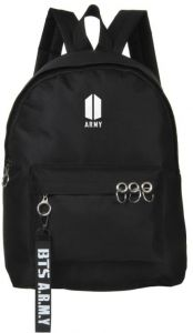 c412a91549 BTS Bangtan boys School Bookbag backpack Travel Rucksack Fans Fits up to  15.6 inch Laptop Black bag for women