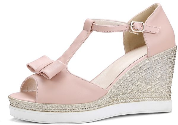 4b2346663f8 Women s Sandals Wedge Chic Stylish All Match Fashion Casual Shoes ...