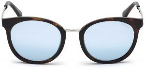 66b9ca2cbe2 Guess Women s Sunglasses -Dark havana Mirror Blue-GU7459 52C52 - size  52-20-140mm