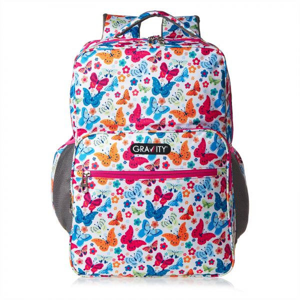 48dc0ec71a00 Gravity School Backpack for Girls - Multi Color