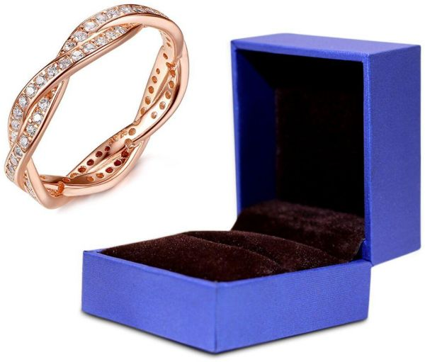 Qings Lovely Enchanting Ring Perfect Birthday Gift For Girls 925