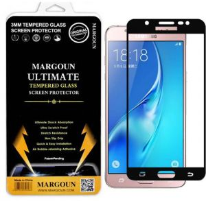 Margoun 5D for Samsung Galaxy J5 (2016) / J510 (5.2 inch) Tempered Glass Screen Protector - Scratch Resistance, Non Slip Grip, Quick and Easy Installation ...