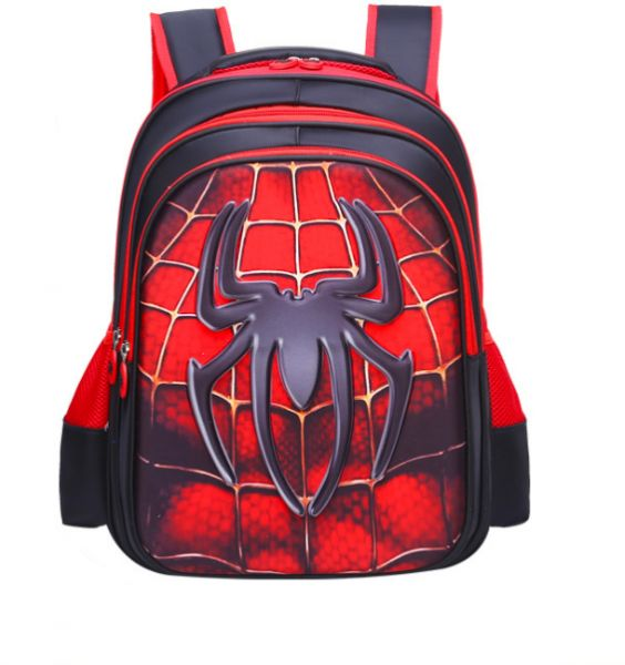 9e67040d3251 Superhero Spiderman Boys  3D School Backpack