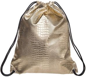 3da296cf9d008 PU leather Drawstring Backpack for Traveling or Shopping Casual Daypacks  School Bags Drawstring Backpack Glittering Outdoor Shoulder Bag