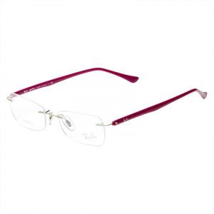 Ray-Ban Glasses Frames RX 8693 1146 Silver Violet Womens 53mm 58ee87cfd5b2