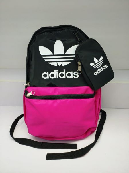 Adidas sports backpack and back bag with unisex bag Pink-Black of ...
