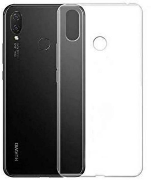 detailed look 66336 66888 Back silicone Back Cover For Huawei Nova 3i - Clear