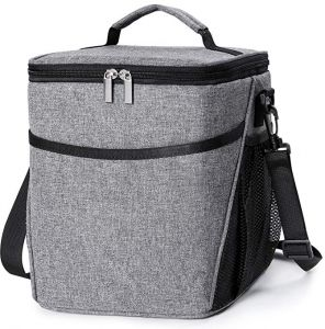 b93fe4b2833 Insulated Lunch Box Lunch Bag for Men Women Adults, 9L Thermal Bento Bag,Vtopmart  Upgraded Reusable Leakproof Large Capacity Cooler Bag for ...