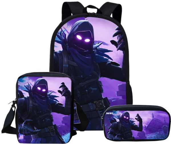 0cd6ab865d8d4 Fortnite Backpack School Bag for Girls Boys Students Laptop Bag ...
