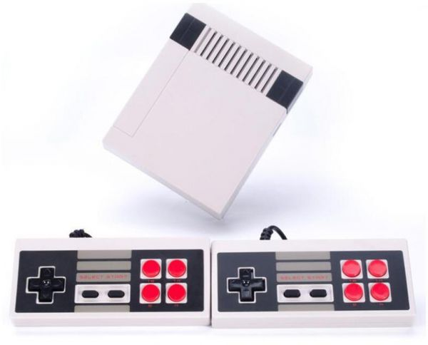Classic Retro Childrens Game, 2 Controllers Built-in 500 TV Video Game Console Professional System