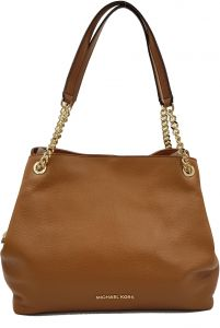 430f1b7f052f Buy michael kors jet set large chain shoulder bag hobo tote pebble ...