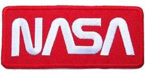 65facea36 NASA space rocket exploration sci-fi 10 x4.4 cm cool jacket backpack iron  or stitch on embroidered patch