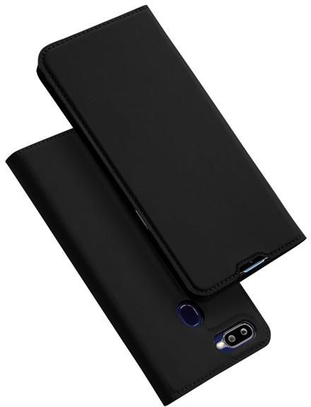 new product 5fe5f 38094 OPPO F9 / F9 Pro DUX DUCIS Skin Pro Series Flip Leather Case Cover - Black
