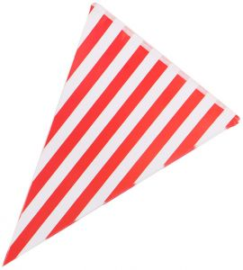 6fa8292c8 Red 10pcs Party Decorative Flags Striped Triangle Bunting Paper Party  Banner Flag Dids Birthday Party Home Room Decoration Pennants Festival  Supplies ...