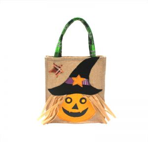 204f8fff10 Selling Halloween Tote Bag Non-woven Pumpkin Tote Bags Ghost Festival  Handbag Candy Cookie Apple Gift Bags