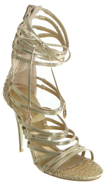 4c5a57ba7d5 Ch.Creation Gladiator Sandal For Women - Gold