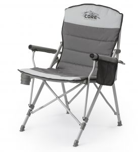 Core Padded Hard Arm Camping , Outdoor , Garden And Picnic Chair