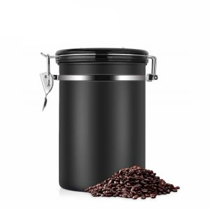 L Beans Large Coffee Container Stainless Steel Vacuum Sealed