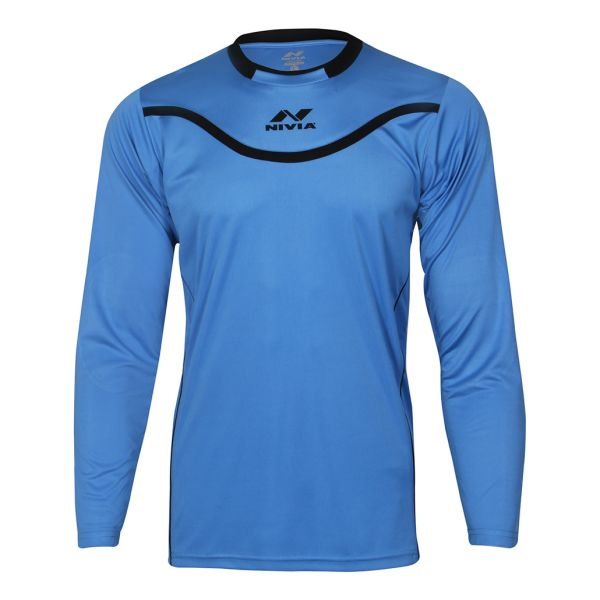 Nivia Armour Football Goal Keeper Jersey for Men - Blue ebe94c2e4