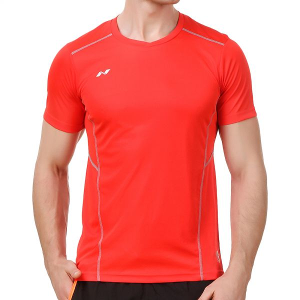 Nivia Oxy Fitness Jersey for Men - Red 7916cb41b