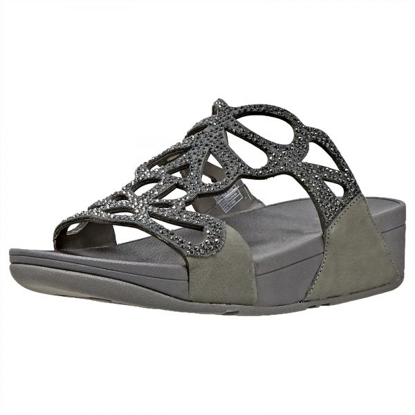 27c6ab410f3261 Fitflop Bumble Crystal Slide Sandals For Women