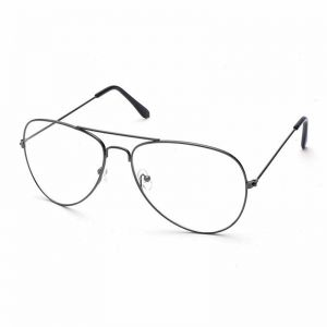 19979ec8875 Round Circle Clear Lens Eyeglasses Unisex Glasses Light Weight Metal Frame