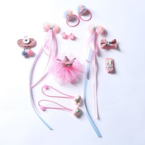 e548a171812ab Boutique 12pcs girl Headwear Set Children Accessories Headband Flowers  Ribbon Bow Hair Clip Hair Band Hairpins Princess Crown Headdress Cute Heart  for Baby ...