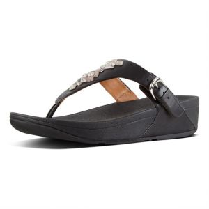 735a31ceb34b3d FitFlop The Skinny Toe-Thong Sandals For Women