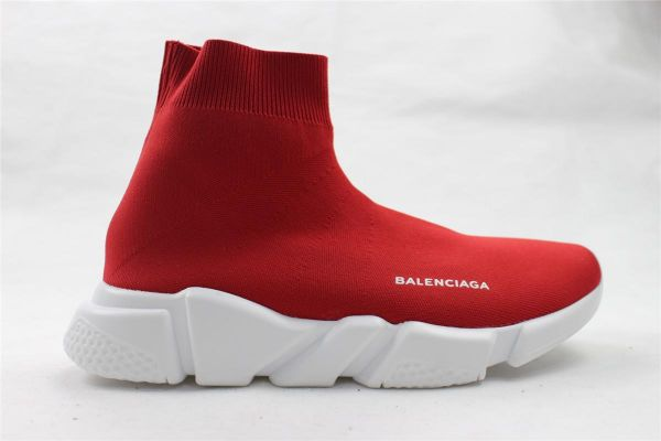 8934e37657c8a Balenciaga Speed Trainer Sock sneakers shoes Red - Unisex