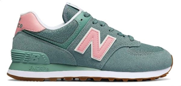 best service b7e85 550c7 New Balance NB-574 Walking Sneakers For Women - Teal   Souq - Egypt
