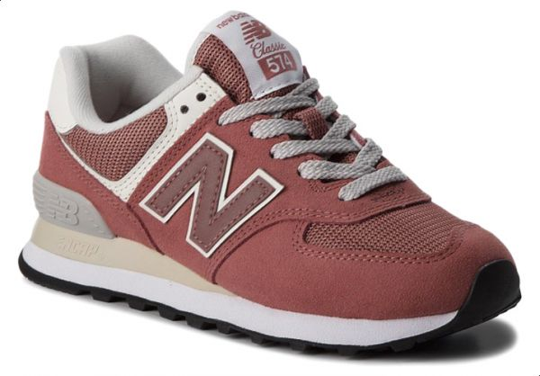super cheap women limited style New Balance NB-574 Walking Sneakers For Women - Pink